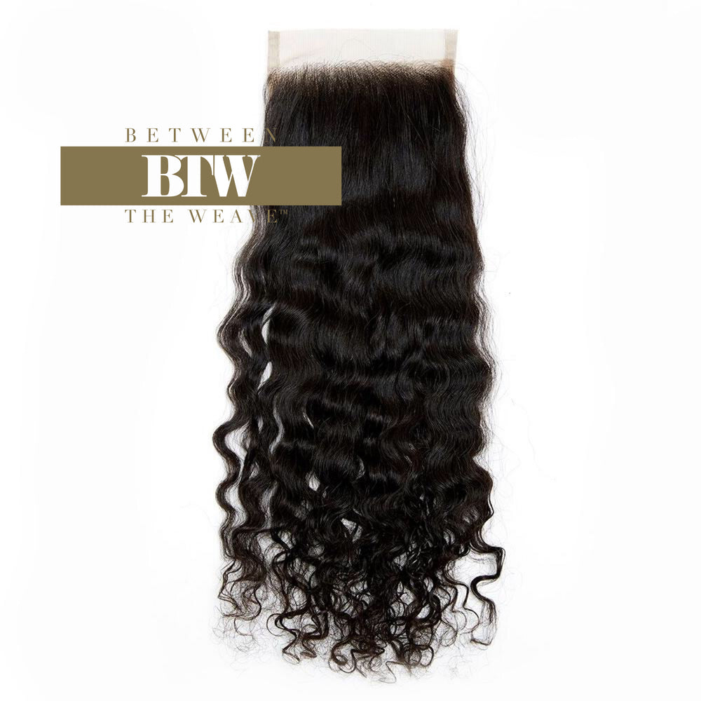 BURMESE CURL LACE CLOSURE 4x4