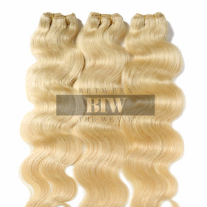 613 BLONDE - BODY WAVE- RAW HAIR