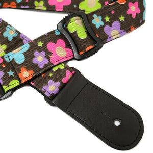 Hawaii Style Flower Ukulele Strap