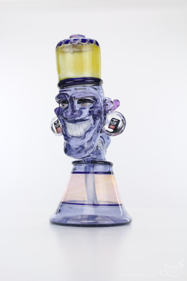 "Snoops Glass ""Counterculture Andre"" Worked Water Pipe"
