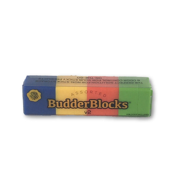 Budderblocks V2 Platinum Cured Small Pack Of 4 - Assorted Solid