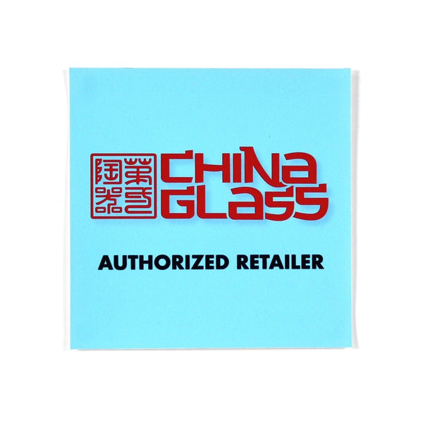 China Glass Window Cling - Swag
