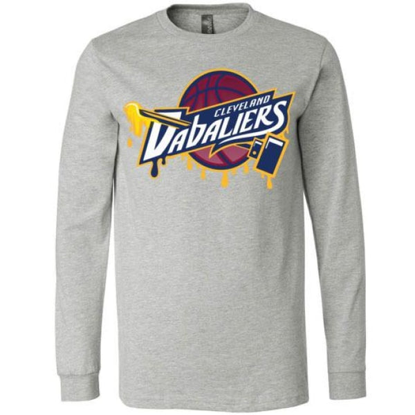 Cleveland Dabaliers Long Sleeve T-Shirt - Athletic Heather / S