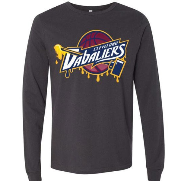 Cleveland Dabaliers Long Sleeve T-Shirt - Dark Grey / S