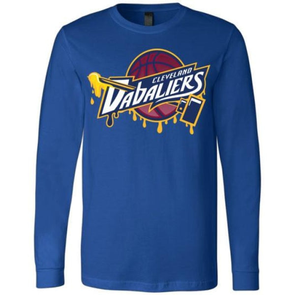 Cleveland Dabaliers Long Sleeve T-Shirt - True Royal / S