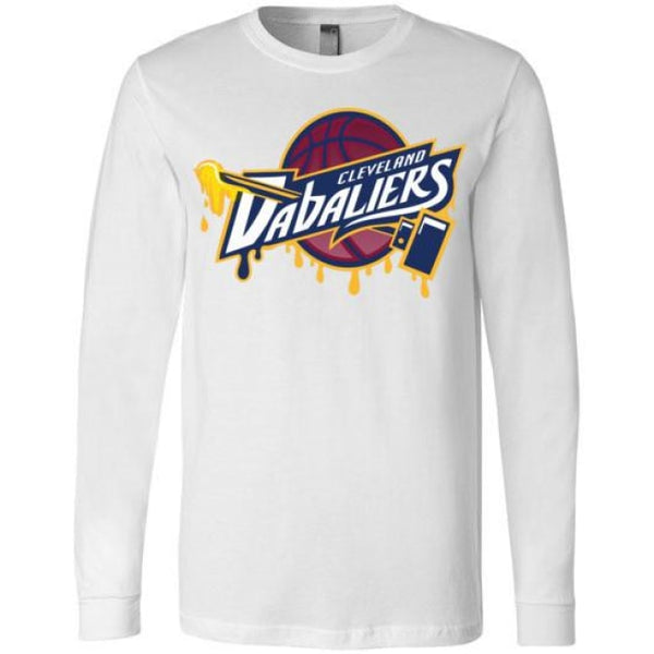 Cleveland Dabaliers Long Sleeve T-Shirt - White / S
