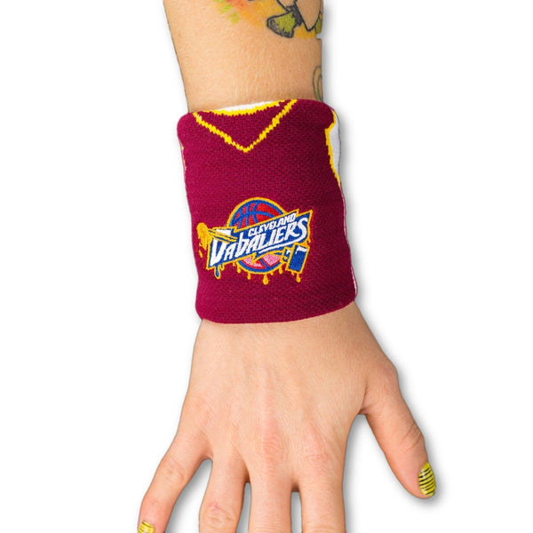 Cleveland Dabaliers Stash Pocket Wristband