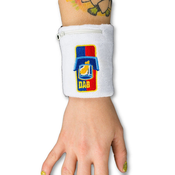 Dab Dabsketball Stash Pocket Wristband