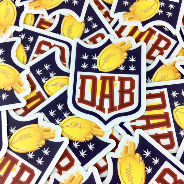 Dab Sticker - Merchandise