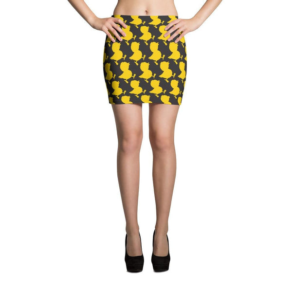 Errlybird Cut & Sew Mini Skirt - Xs