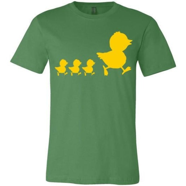 Errlybird Little Ducks Shirt - Leaf / S