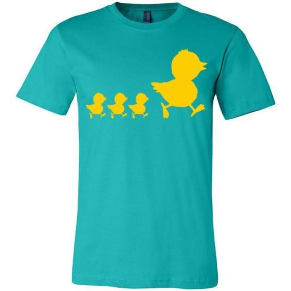 Errlybird Little Ducks Shirt - Teal / S