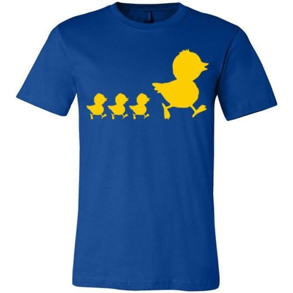 Errlybird Little Ducks Shirt - True Royal / S