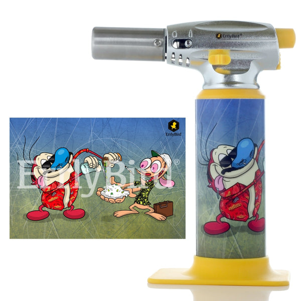 Errlybird Torch Art - Multiple Designs Available - Ren And Stimpy