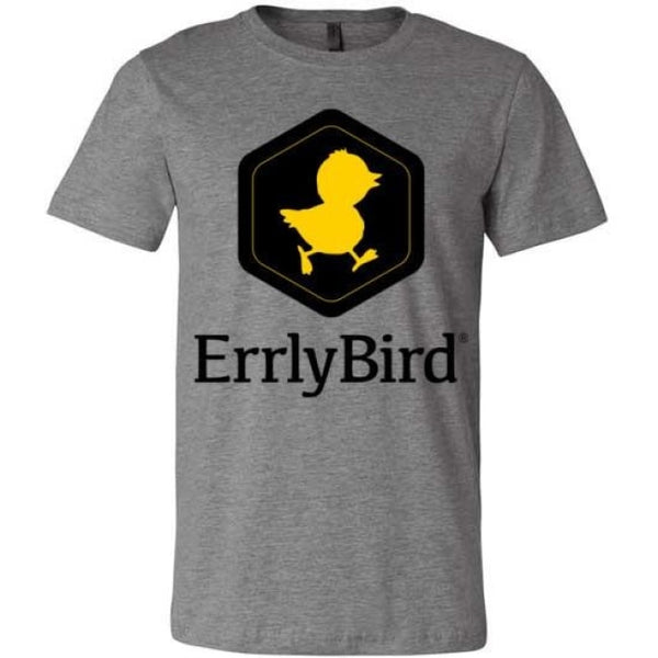 Errlybird Unisex T-Shirt - Deep Heather / S