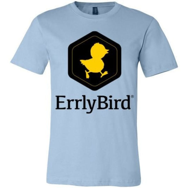 Errlybird Unisex T-Shirt - Light Blue / S
