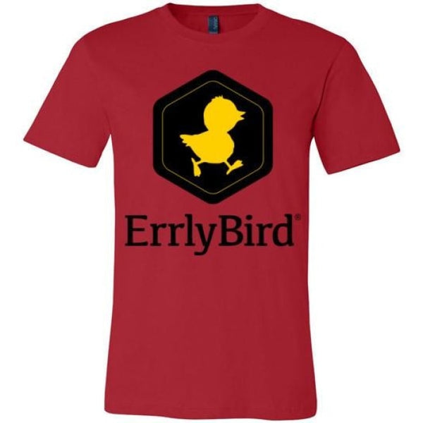 Errlybird Unisex T-Shirt - Red / S