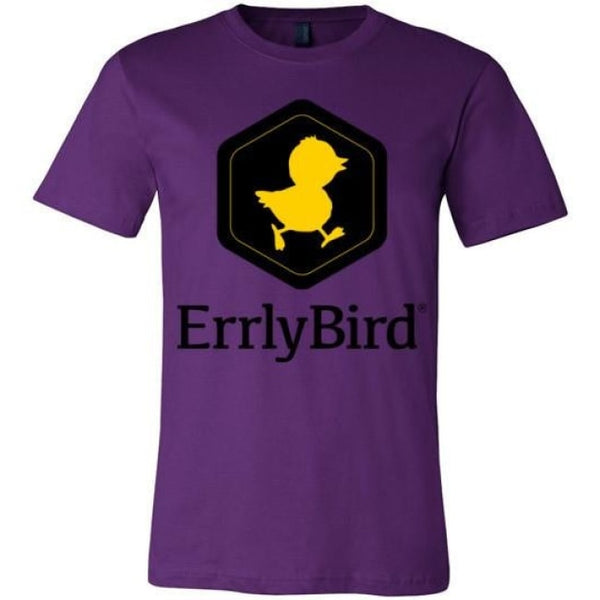 Errlybird Unisex T-Shirt - Team Purple / S