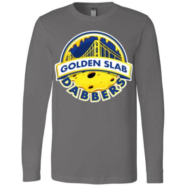 Golden Slab Dabbers Long Sleeve Shirt - Asphalt / S