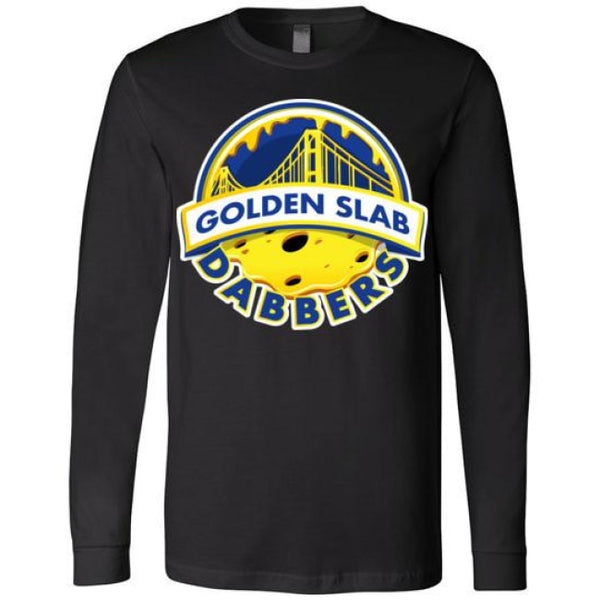 Golden Slab Dabbers Long Sleeve Shirt - Black / Xs