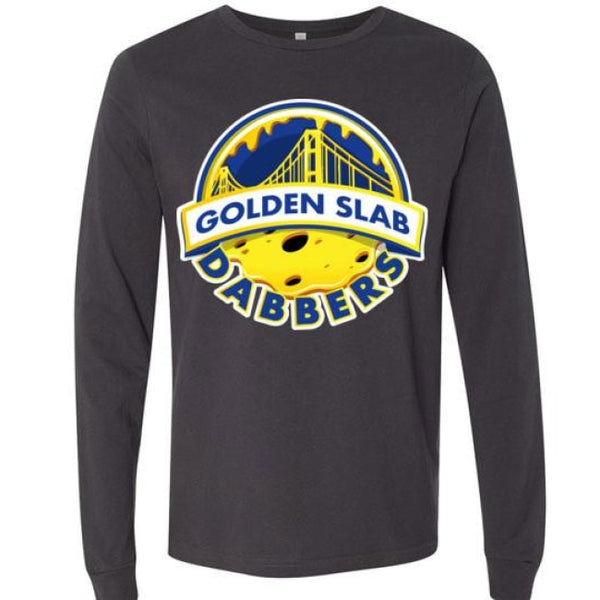 Golden Slab Dabbers Long Sleeve Shirt - Dark Grey / S