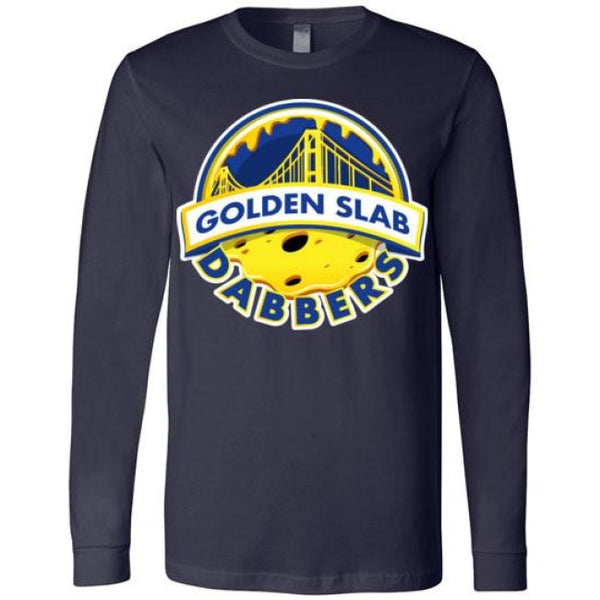 Golden Slab Dabbers Long Sleeve Shirt - Navy / S