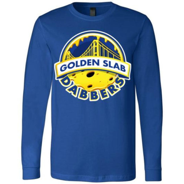 Golden Slab Dabbers Long Sleeve Shirt - True Royal / S