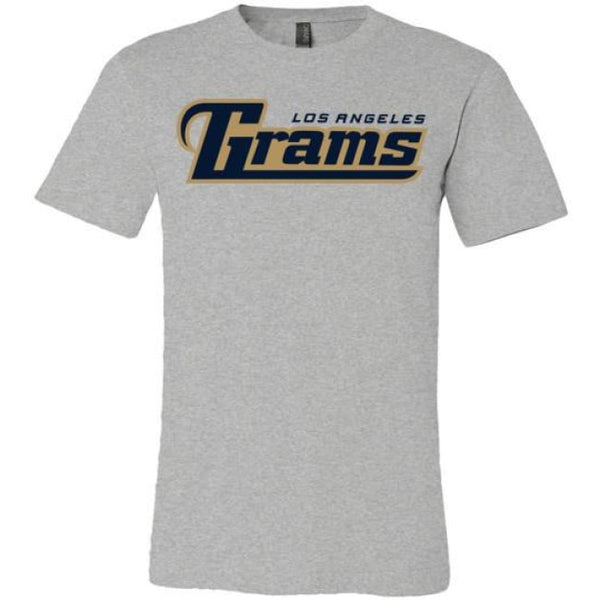 Los Angeles Grams T-Shirt - Athletic Heather / S