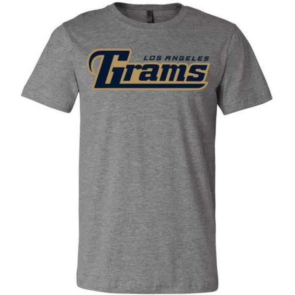 Los Angeles Grams T-Shirt - Deep Heather / S