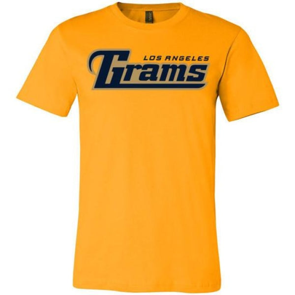 Los Angeles Grams T-Shirt - Gold / S