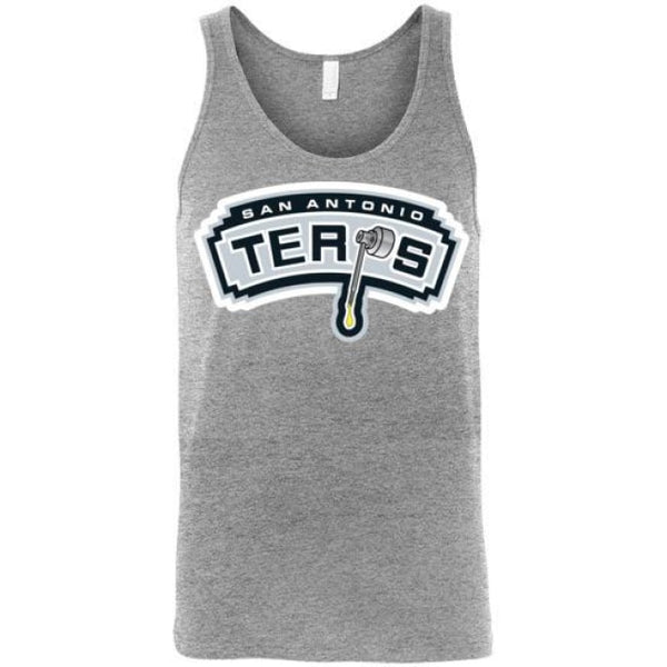 San Antonio Terps Unisex Tank - Athletic Heather / S