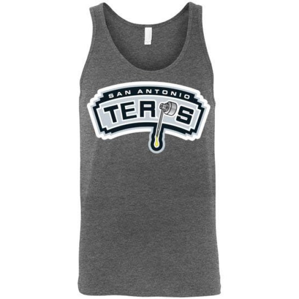 San Antonio Terps Unisex Tank - Deep Heather / S