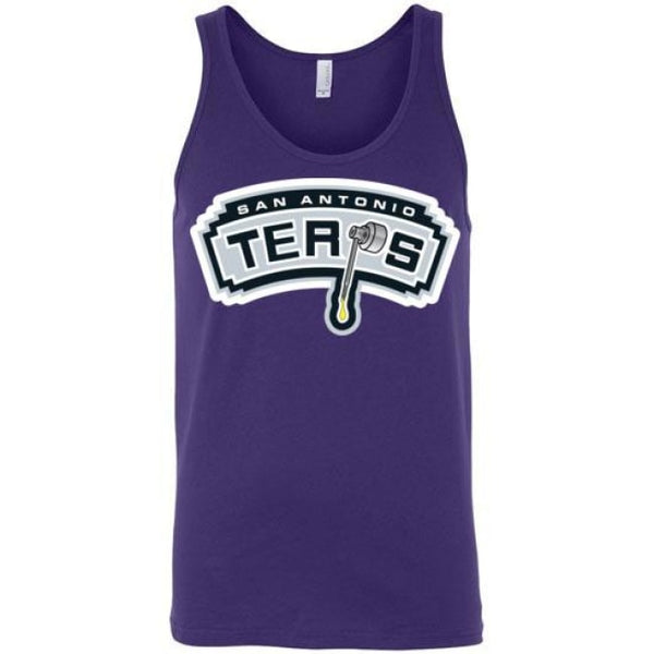 San Antonio Terps Unisex Tank - Team Purple / S