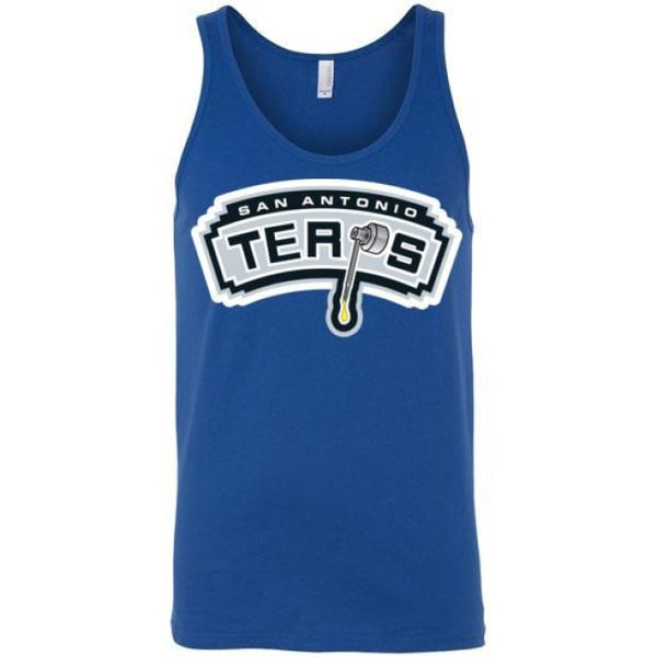 San Antonio Terps Unisex Tank - True Royal / S