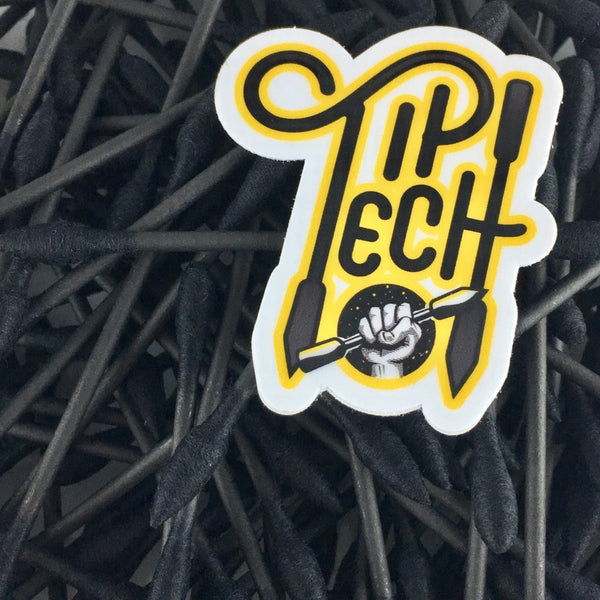 Tip Tech V2 Black Cotton Swabs - 1 Pack