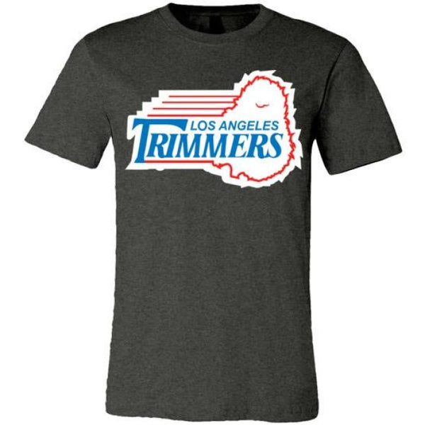 Trimmers Unisex T-Shirt - Dark Grey Heather / S