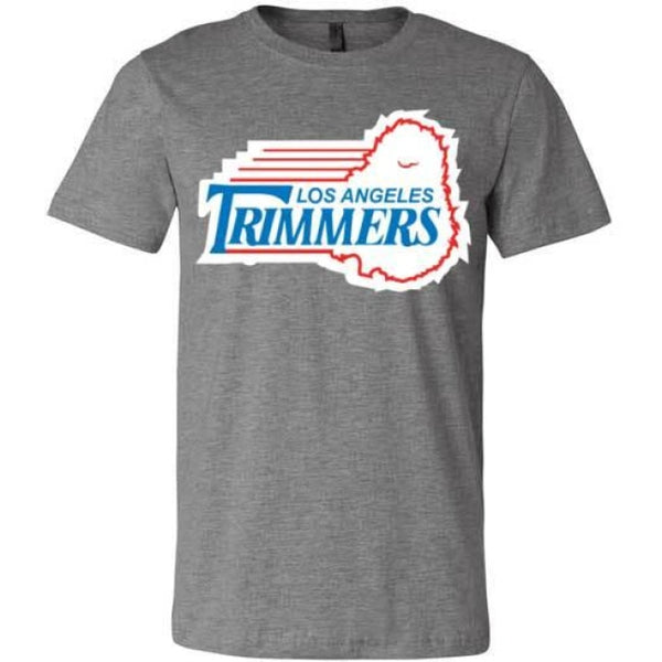 Trimmers Unisex T-Shirt - Deep Heather / S