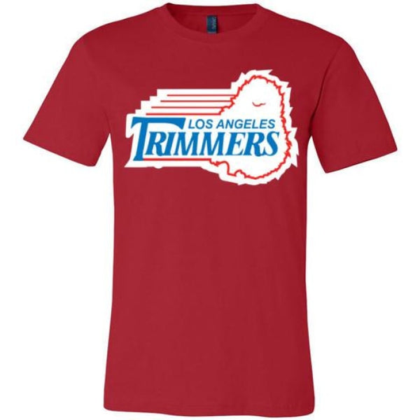Trimmers Unisex T-Shirt - Red / S