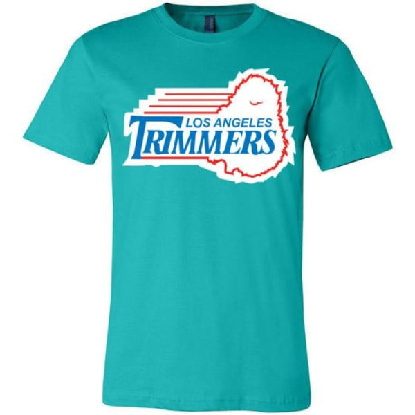 Trimmers Unisex T-Shirt - Teal / S