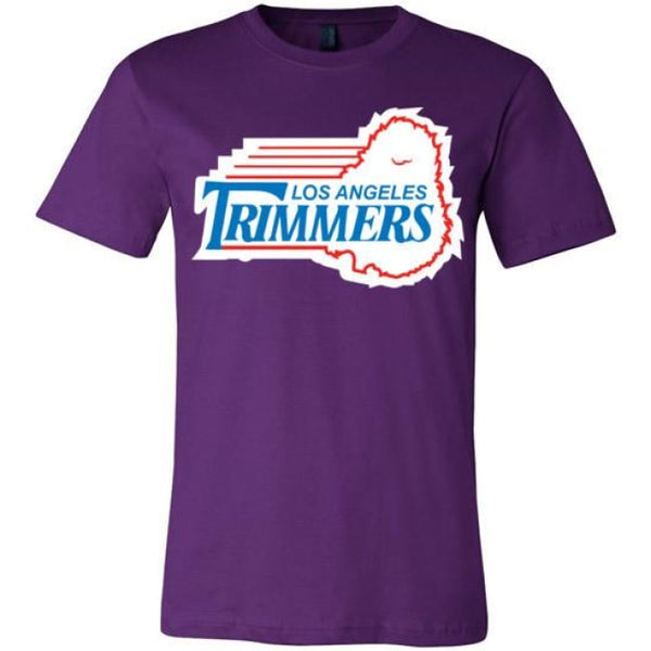 Trimmers Unisex T-Shirt - Team Purple / S