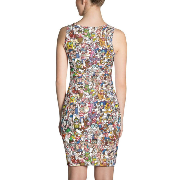 Waldope Sublimation Cut & Sew Dress