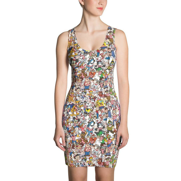 Waldope Sublimation Cut & Sew Dress - Xs