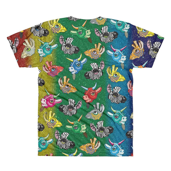 Zoo Keeper Rainbow Sublimation Mens T-Shirt