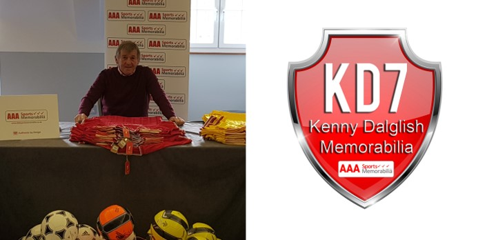 AAA Sports Memorabilia Congratulates 'King Kenny' on his Knighthood