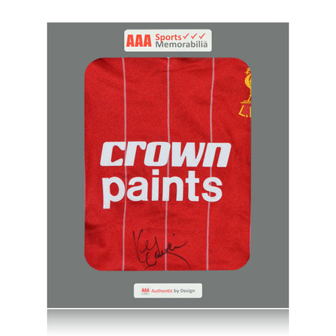 Kenny Dalglish Front Signed Crown Paints 1982 Liverpool Home Shirt