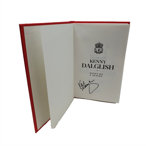 Kenny Dalglish SIGNED LIMITED EDITION (50 ONLY) NOTES ON THE SEASON 89-90
