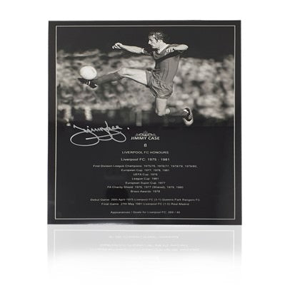 "Jimmy Case Hand Signed 12"" x 16"" Honours Poster"