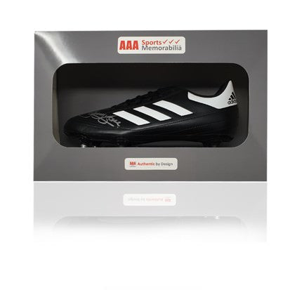 Jimmy Case Hand Signed Adidas Football Boot in AAA Gift Box