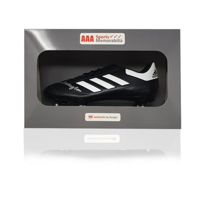 Ian Callaghan Hand Signed Adidas Football Boot in AAA Gift Box