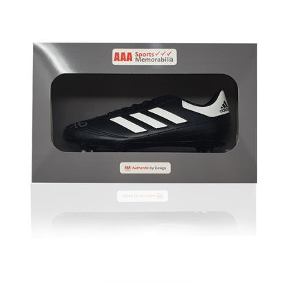Alan Kennedy Hand Signed Adidas Football Boot in AAA Gift Box